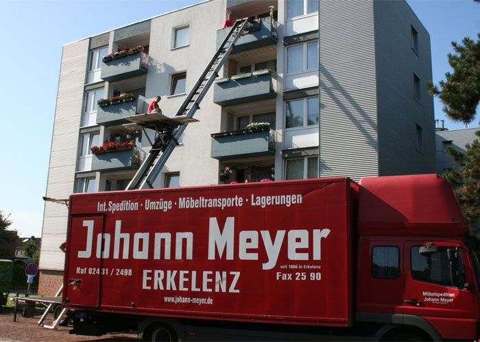 Internationale Möbelspedition Johann Meyer Erkelenz Home